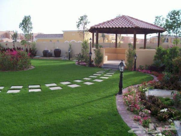 تنسيق حدائق بالرياض