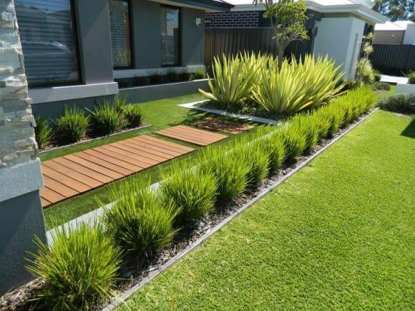 فنى تصميم حدائق بالروضة